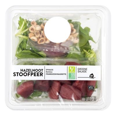 Huismerk Groene salade stoofpeer