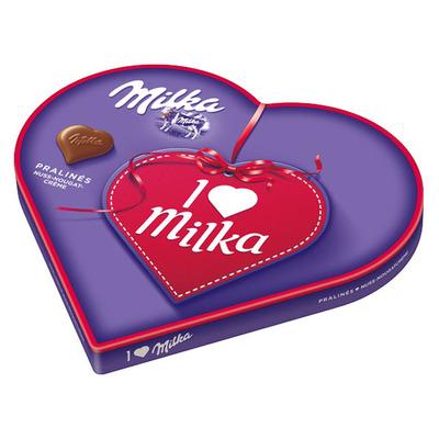 Milka I love Milka hart
