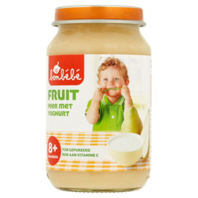 Huismerk 8+ Peer yoghurt