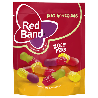 Red Band Winegums zoet fris