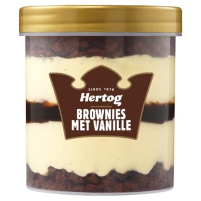 Hertog Brownie vanille