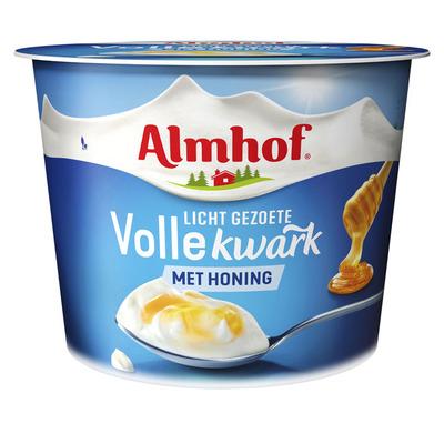 Almhof Volle kwark naturel met honing