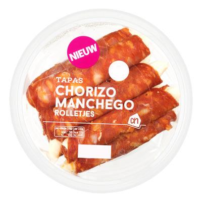 Huismerk Chorizo manchego rolletje
