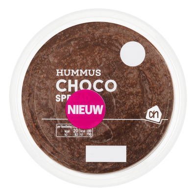 Huismerk Hummus choco kleintje