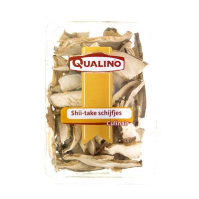 Qualino Shii-take schijfjes gedroogd