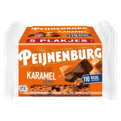 Peijnenburg Chocolade Karamel Zeezout 5 x 35,6 g