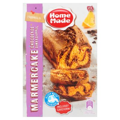 HomeMade Marmercake Chocolade Sinaasappel 400 g
