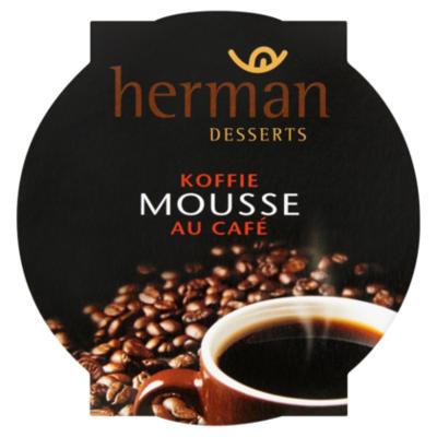 Herman desserts Mousse koffie
