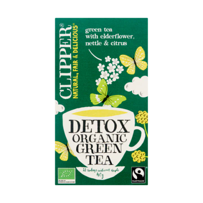 Clipper Detox Organic Green Tea 20 Zakjes