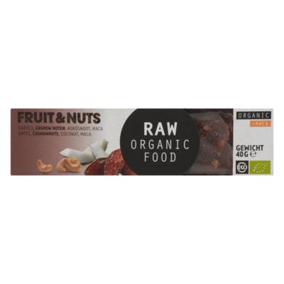 Raw Organic Food Fruit & Noten + Ma