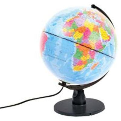 Globe Met Licht LED 25 cm