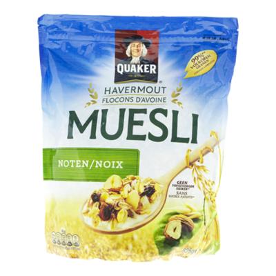 Quaker Havermout muesli granen noten