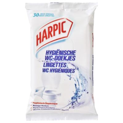 Harpic Harpic Toiletdoekjes Box 30 stuks