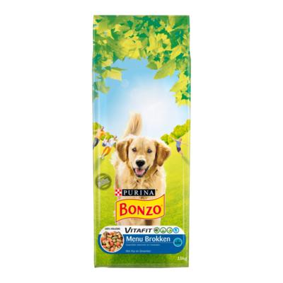 Bonzo Vitafit Menu Brokken met Kip en Groenten