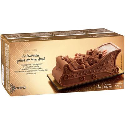 Picard Kerstslee chocolade ijstaart