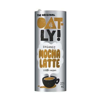 Oatly Coffee drink mocha latte