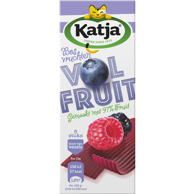 Katja VolFruit bosvruchten