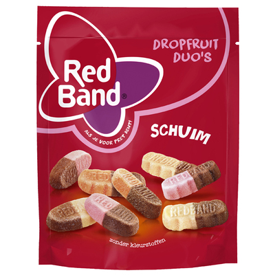 Red Band Dropfruit duo's schuim