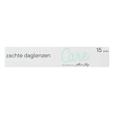 Care Daglenzen -2,00