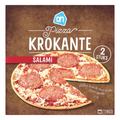 Huismerk Krokante pizza salami