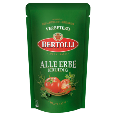 Bertolli Pastasaus Kruidig 5 Porties 500 g