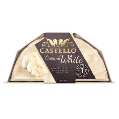 Castello witte korstkaas white