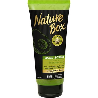 Nature Box Scrub avocado rescue