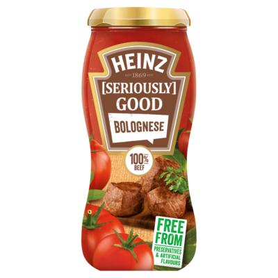 Heinz Seriously Good Bolognese 490 g