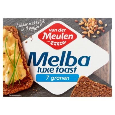 Van Der Meulen Luxe melba toast 7-granen