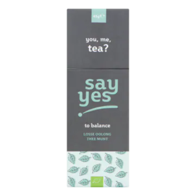 Say Yes Losse Oolong Thee Munt