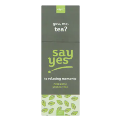 Say Yes Pure Losse Groene Thee