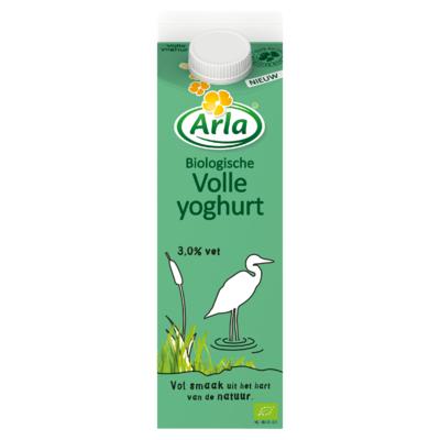 Arla Biologisch Volle Yoghurt 1 L