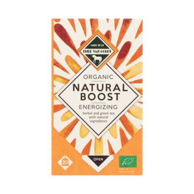 Thee Van Oordt Organic Natural Boost Energizing