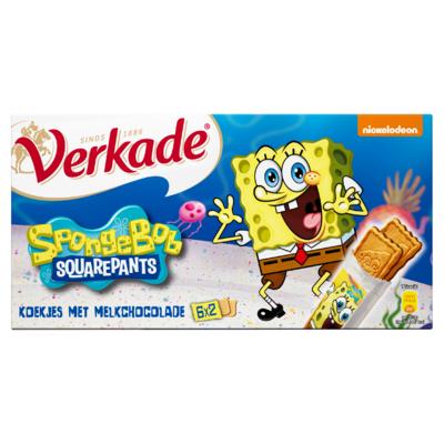 Verkade SpongeBob 6 x 2 Stuks 168 g