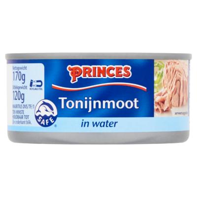 Princes Tonijnmoot in Water 170 g