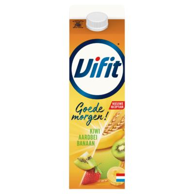 Vifit Goedemorgen! Drinkontbijt Aardbei/Kiwi/Banaan 1 L