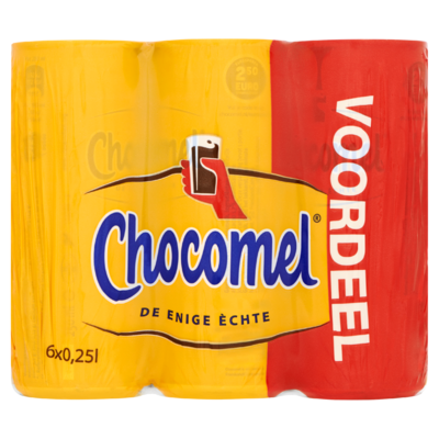 Chocomel Vol Blik Multipack 6 x 250 ml