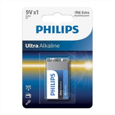Philips Power Batterijen 9v/6lr61 Blister