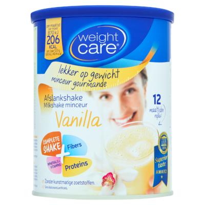 Weight Care Afslankshake Vanilla 324 g