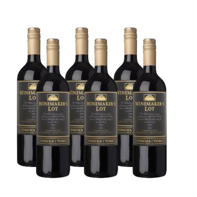 Winemaker's Lot Carmenere -cabernet sauvignon doos