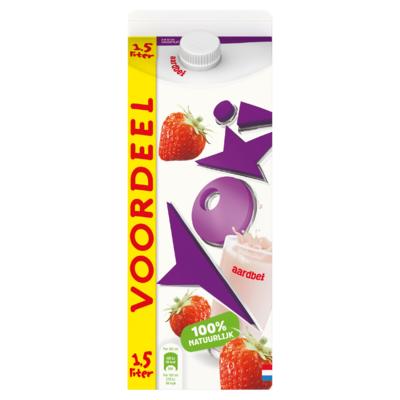 Yoki Drinkyoghurt Aardbei Voordeelpak 1,5 L
