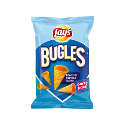 Lay's Bugles Maissnack Roasted Paprika Flavour