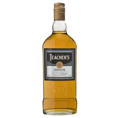 Teacher's Highland cream scotch whiskey