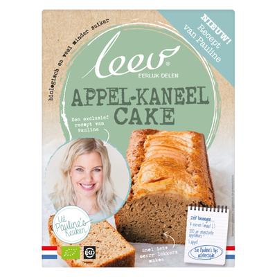 Leev Pauline bio mix appl-kanl cake lg suiker