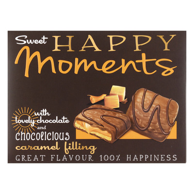 Nora Happy moments chocolate caramel