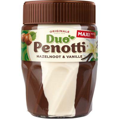 Duo Penotti Hazelnoot & vanille maxi potti 615g