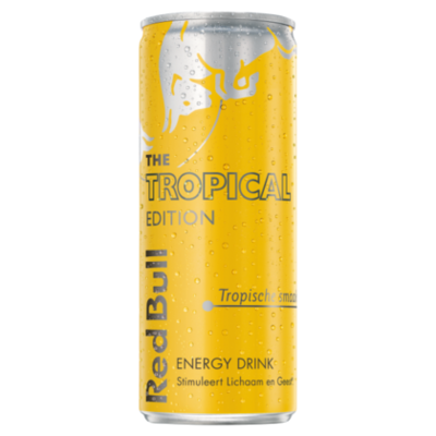Redbull Energydrink tropical edition
