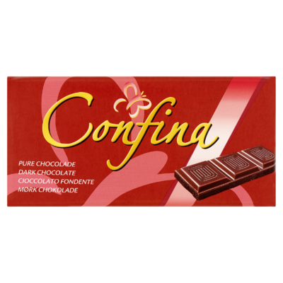Confina Pure Chocolade Tablet 100 g