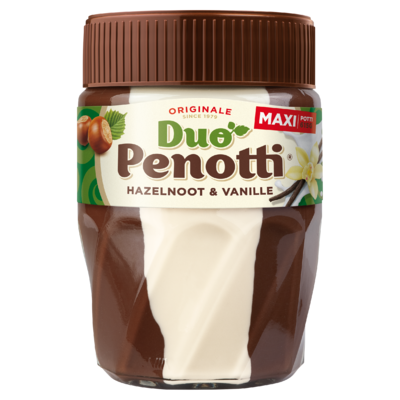 Duo Penotti Hazelnoot & Vanille Maxi Potti 615 g