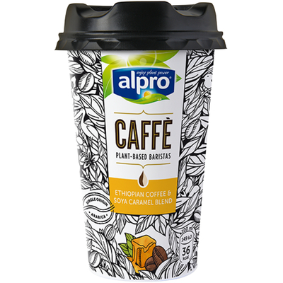 Alpro Caffè soja karamel ijskoffie